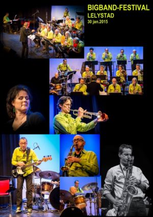 Foto-collage Big Band Festival lelystad 2015